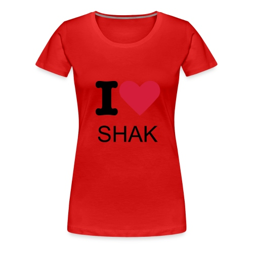 love shak tee - Women's Premium T-Shirt