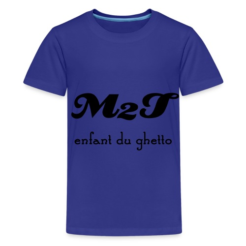 enfant du ghetto - T-shirt Premium Ado