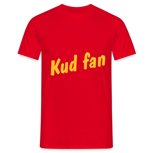 Kud fan shirt - Mannen T-shirt
