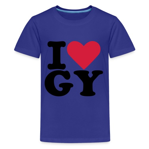 tee-blue-LoveGY - Teenage Premium T-Shirt