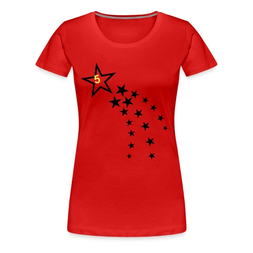 5SG LADIES SHOOTING STAR - Women's Premium T-Shirt