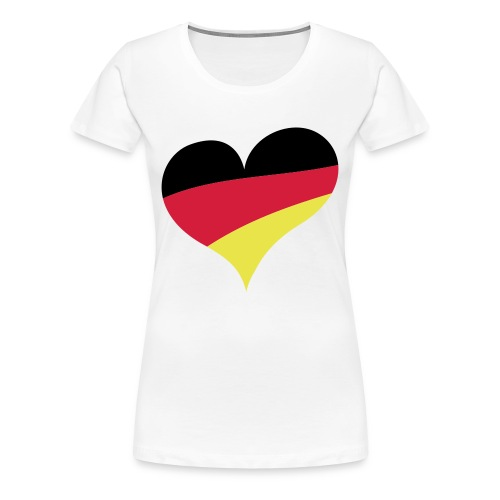 I Love Germany - Frauen Premium T-Shirt