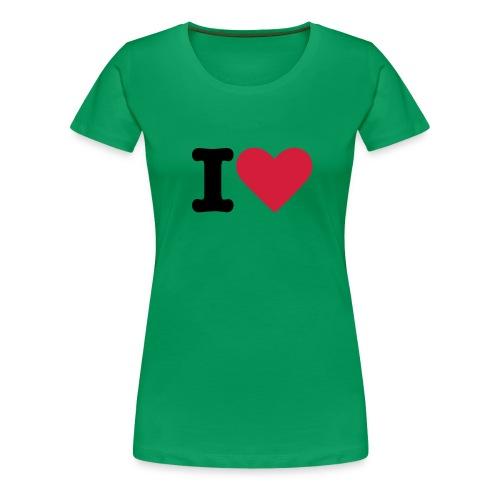 I Love Locko-Mocko - Frauen Premium T-Shirt
