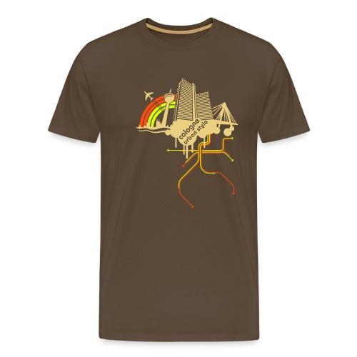 Cologne urban style - Männer Premium T-Shirt