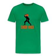 T-Shirts ~ Men's Premium T-Shirt ~ Ginger Ninja Comfort T