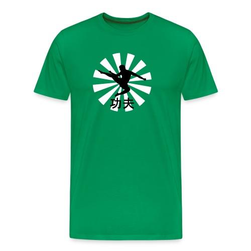 kung fu - Camiseta premium hombre