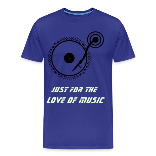 For the love of music - Men's Premium T-Shirt