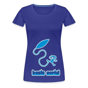 Girl Basic Aerial - Women's Premium T-Shirt