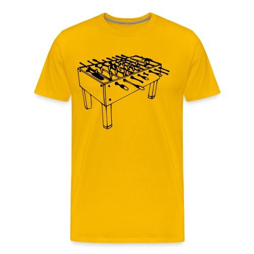 Play Fussball - Mannen Premium T-shirt