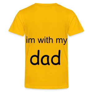 poof daddy - Teenage Premium T-Shirt
