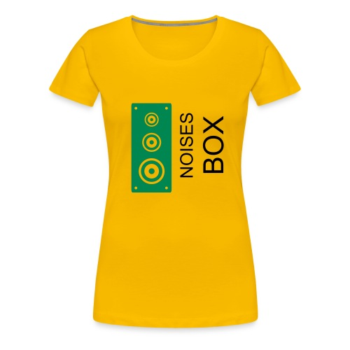 Noises Box Speaker T-shirt Women - Camiseta premium mujer