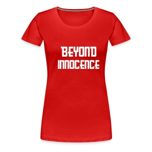 Beyond Innocence womans skinny (red) - Women's Premium T-Shirt