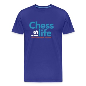 chess is life / T-shirt - Mannen Premium T-shirt