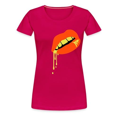 yellow Retro 2  - Women's Premium T-Shirt