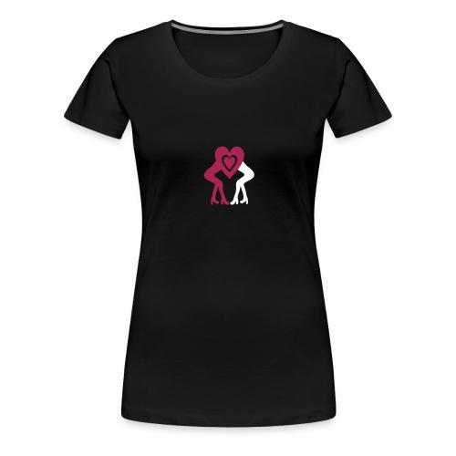 Womencoeur - Frauen Premium T-Shirt