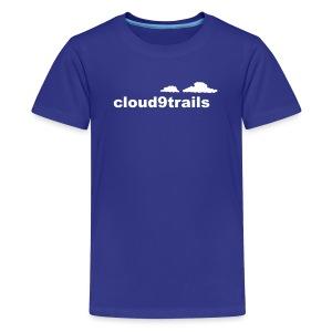 cloud9trails KIDS tee - Teenage Premium T-Shirt