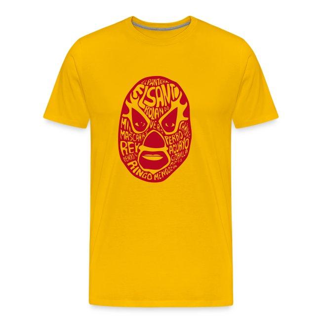 El Luchador Mexicano t-shirt