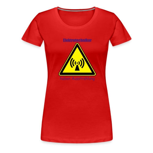 Elektrotechnikerin - Frauen Premium T-Shirt