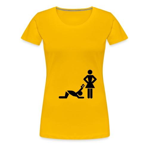 How men should be treated - Women's Premium T-Shirt