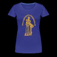 T-Shirts ~ Frauen Premium T-Shirt ~ Erzgebirgische Klöppelspitze tükis/female