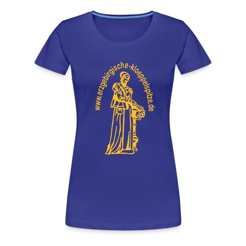 Erzgebirgische Klöppelspitze tükis/female - Frauen Premium T-Shirt