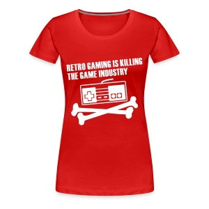Retro is killing! - Vrouwen Premium T-shirt