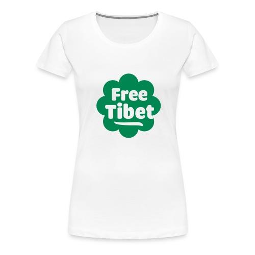 Free tibet! - Women's Premium T-Shirt