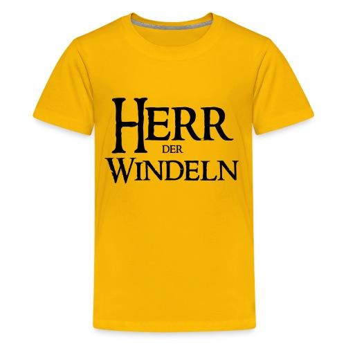 Herr der Windeln - Teenager Premium T-Shirt