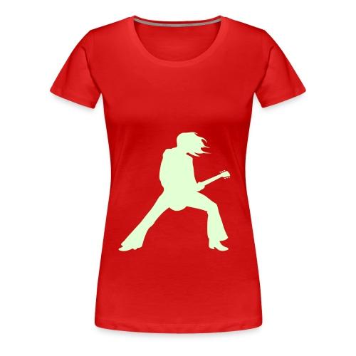 7Live - RedShirt Gitarrist - Frauen Premium T-Shirt