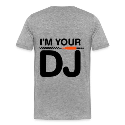 Dj Tazzz kool chack the back - Mannen Premium T-shirt