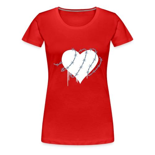 COEUR - T-shirt Premium Femme