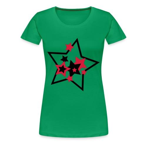 Lucky Stars - Women's Premium T-Shirt