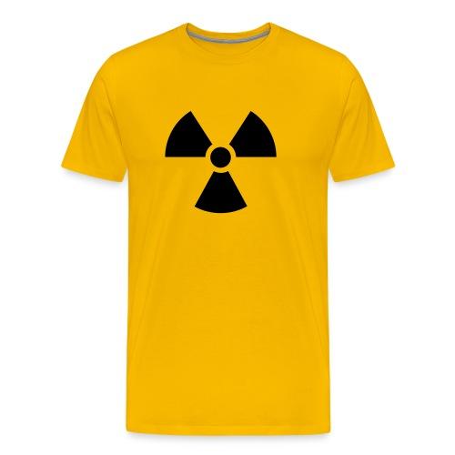 Radioattività Alta - Maglietta Premium da uomo