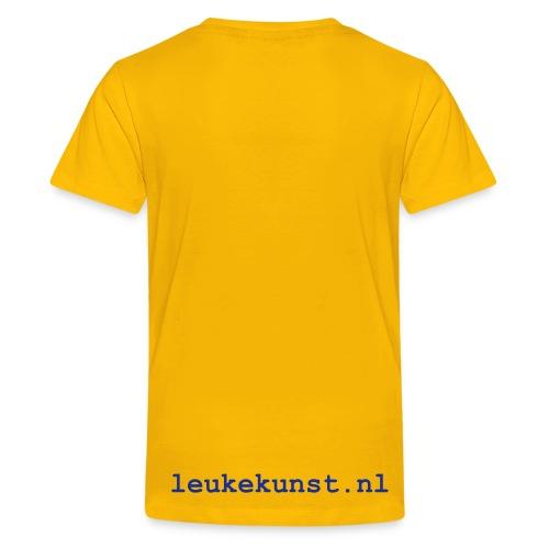 Grote en kleine beer (kids) - Teenager Premium T-shirt