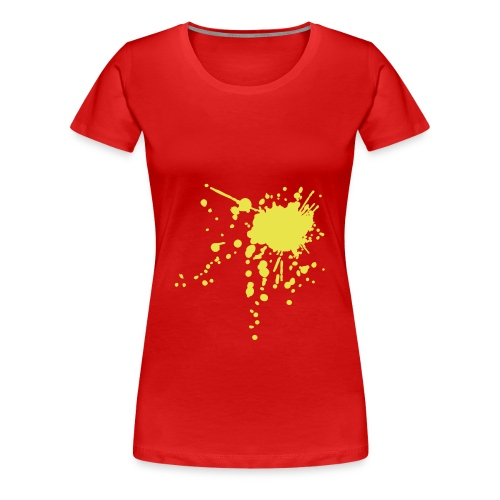 7Live - RedShirt Blutfleck - Frauen Premium T-Shirt