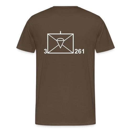 T-Shirt Taktisches Zeichen mit Namen - Männer Premium T-Shirt