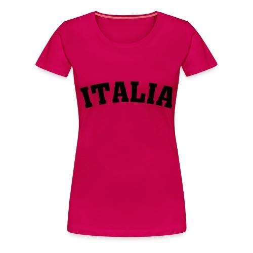 Funshirt -Italia - Frauen Premium T-Shirt