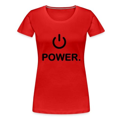 Power ON/OFF - Koszulka damska Premium
