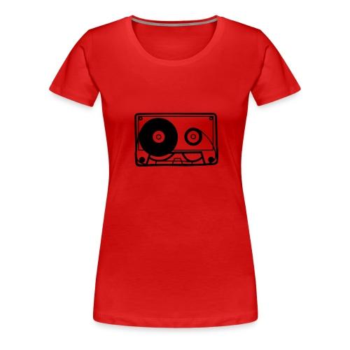 Kaseta - Koszulka damska Premium