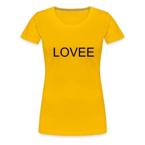 lovee - Women's Premium T-Shirt
