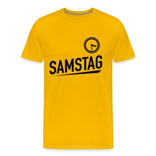 Samstag 15.30 - Männer Premium T-Shirt