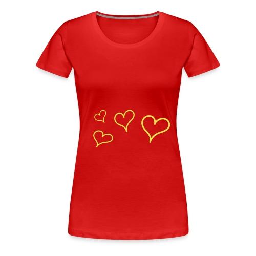 7Live - RedShirt Flying Heart - Frauen Premium T-Shirt
