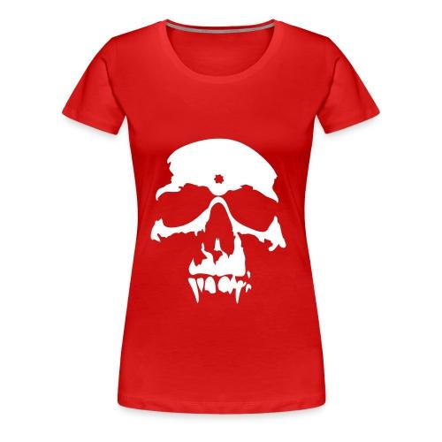 7Live - RedShirt Totenkopf - Frauen Premium T-Shirt
