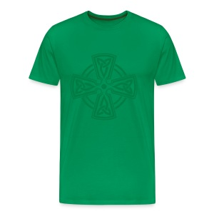 Celtic Cross Shirt - Männer Premium T-Shirt