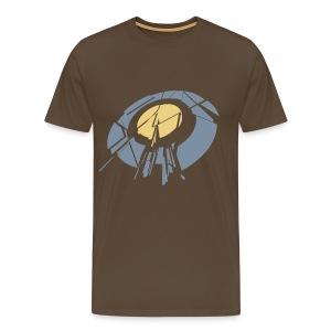 Hit me - Mannen Premium T-shirt