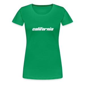 Frauen-T-Shirt california kelly green - Frauen Premium T-Shirt