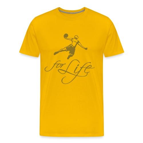 Baller for life - T-shirt Premium Homme