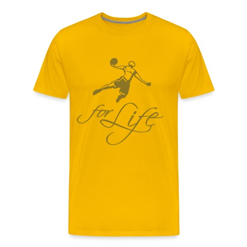 Baller for life - T-shirt Premium Homme
