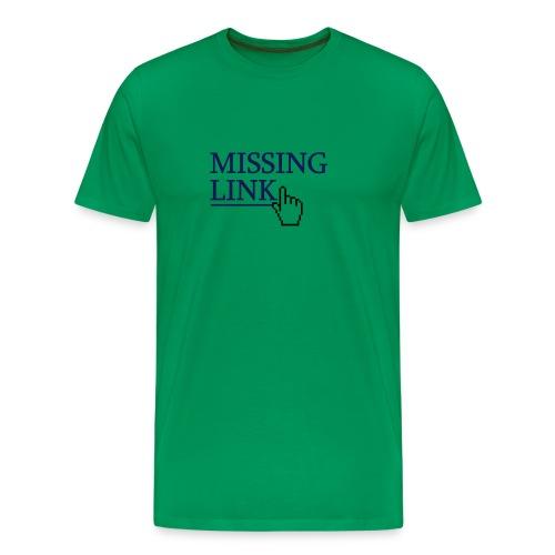 Missing Link - Men's Premium T-Shirt