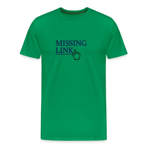 Missing Link - Men's Premium T-Shirt